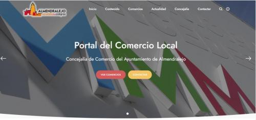 El Ayuntamiento diseña y pone en marcha  una web para el Comercio Local
