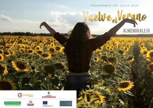Cultura, Festejos y Comercio presentan la nueva programación del verano con actividades para el mes de julio
