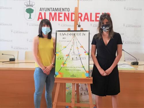 Festejos presenta el cartel de la feria con su autora Laura Cirilo