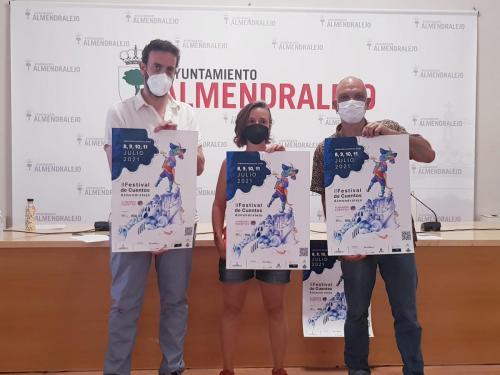 Almendralejo se convierte en la sede la narración oral con el II Festival Almendracuentos