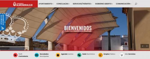 El Ayuntamiento hace accesibles todas las webs municipales